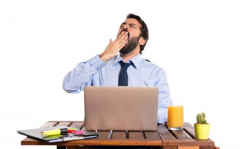 Sleepiness at work might be a mild symptom of Adrenal Fatigue