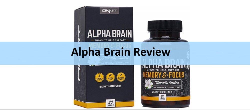 Onnit Alpha Brain Packaging Bottle