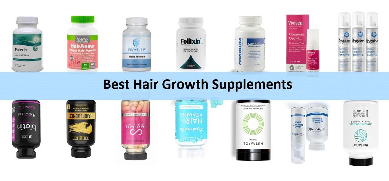 Best Hair Growth Supplements in 2020