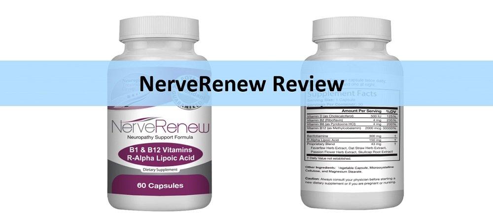 NerveRenew Naturopathy Capsules Review