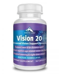 Vision 20 Eye Health Supplement