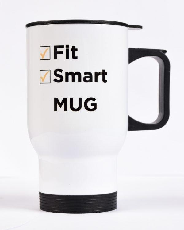 Fit + Smart Mug Side